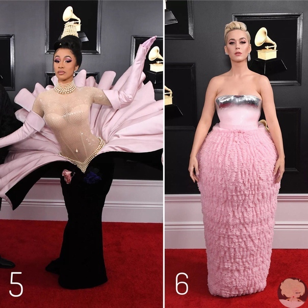 Ну что, готовы к новому голосованию На этот раз мы будем выбирать не лучший образ, а самый необычный А все потому, что ковровая дорожка церемонии награждения премии Grammys оказалась щедрой на креативные (или чудаковатые) луки.