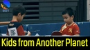 AMAZING TABLE TENNIS MATCH 1st Grade Kids Champion