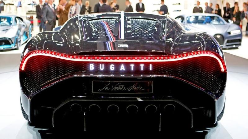 Новый Bugatti за Миллиард! Bugatti La Voiture Noire 2019