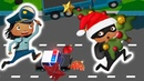 Маленькая полиция Ищем воришку новогодних игрушек в игровом мультике про полицию для детей