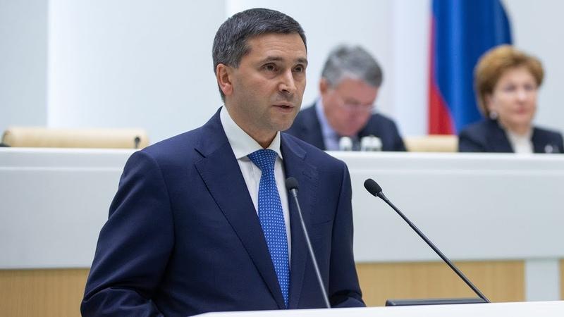 В рамках «Правительственного часа» выступил Министр природных ресурсов и экологии РФ Д. Кобылкин