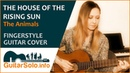 The House of the Rising Sun Guitar Cover Fingerstyle