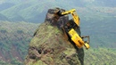 World's Dangerous Idiots Construction Excavator Heavy Equipment Operator Driving Machines Skill