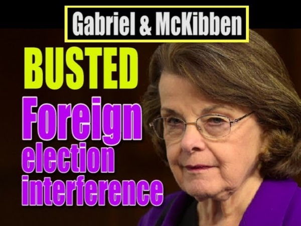 Dianne Feinstein Behind Foreign Interference in U S Elections
