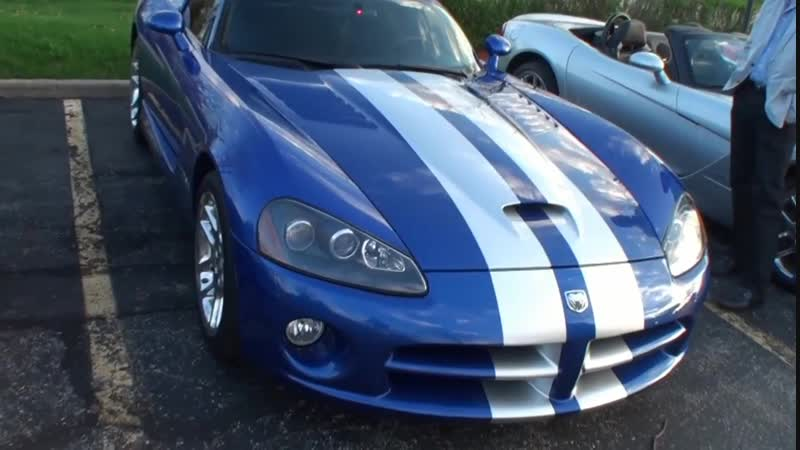 Lou Costabile 1 серия IL Illinois Viper Club Dodge ACR GTS RT⁄10 RT SRT 10 American Supercar With 40 Vipers On 5-1-13
