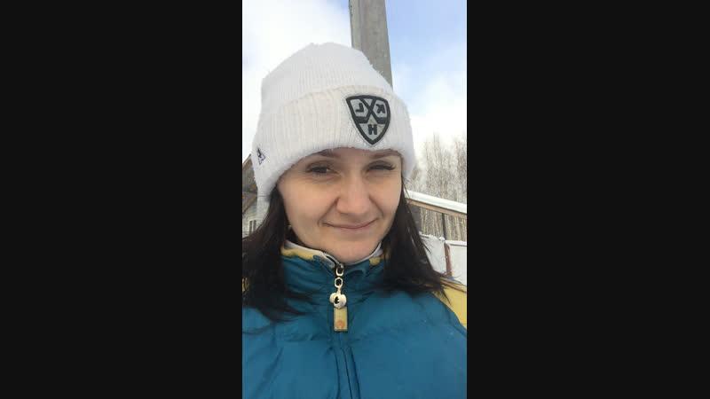 Бег и лыжи сжигают 350 ккал! Если дорожки замело - встаём на лыжи!
