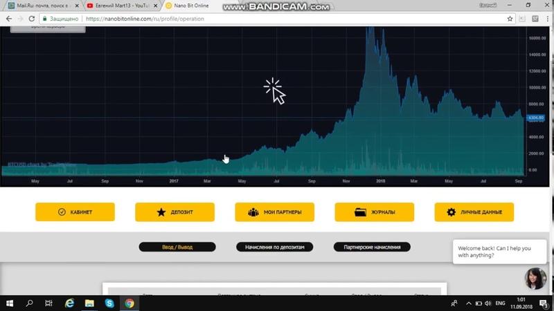 Вывод за 30 минут, Nano Bit Online, платформа платит Мой скайп 79225325808 Nina