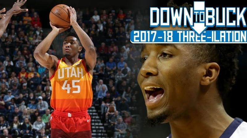Donovan Mitchell All 187 Three-Pointers Full Highlights (2017-18 Season Three-ilation Part II)