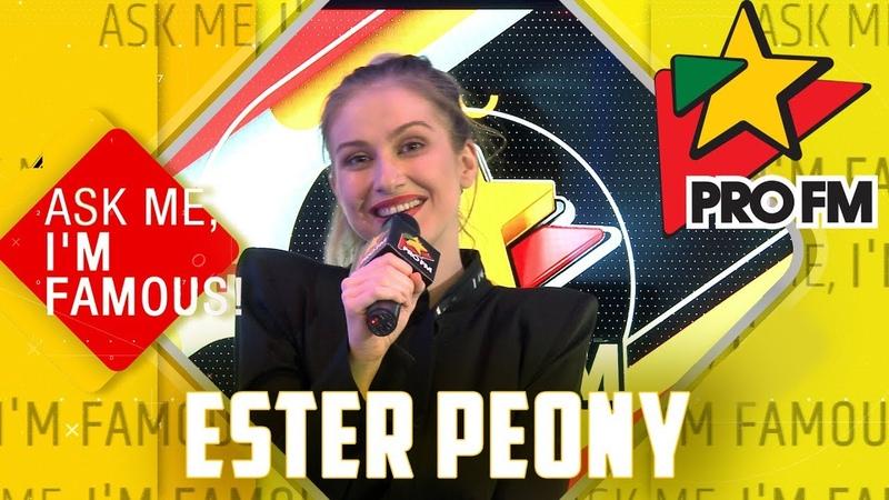 Ester Peony @ Ask Me I'm Famous Quiz ProFM