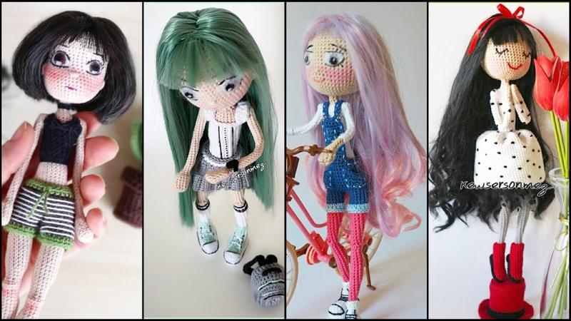 Amigurumi sentetik saç uygulaması how to apply synthetic hair to dolls