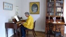 Клавесин в музее Джейн Остин