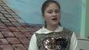 Басня Ворона и лисица . Виктория Кампаниди, 12 лет, г. Салоникии, Греция.