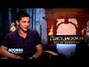 ESMG    Logan Lerman Reacts To Selena Gomez's Crush Revelation on E! Special With Ryan Seacrest