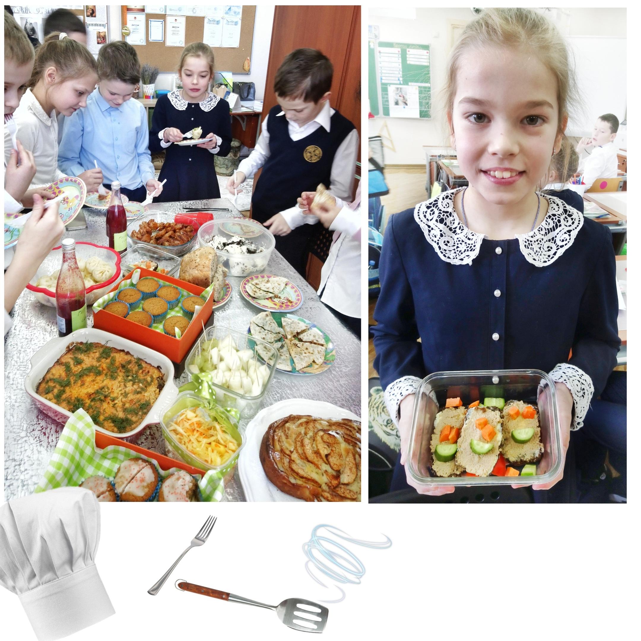 Учащиеся Гимназии Святителя Василия Великого в д. Зайцево провели «Школу кулинаров»