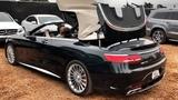 630 л.с. Mercedes-AMG S 65 V12 тест кабрика за 20+ млн (!!!) США, Калифорния, Pebble Beach.