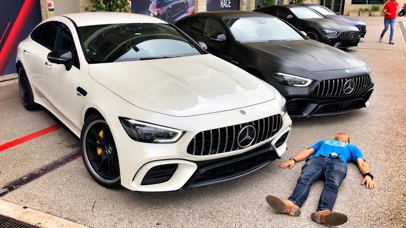 640 л.с. Mercedes-AMG GT 63 S и GT 53 – ОБЗОР на тест-драйве в США, штат Техас.