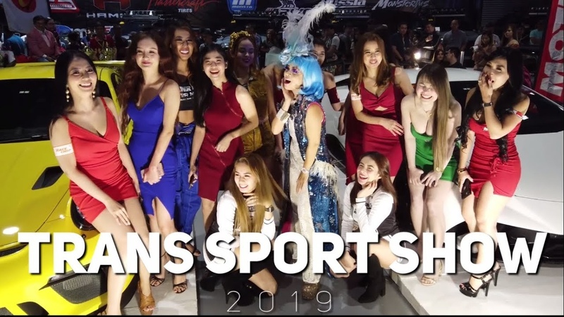 Cars Girls Models of 28th TRANS SPORT SHOW 2019 Using DJI Osmo Pocket EVENTS EP01