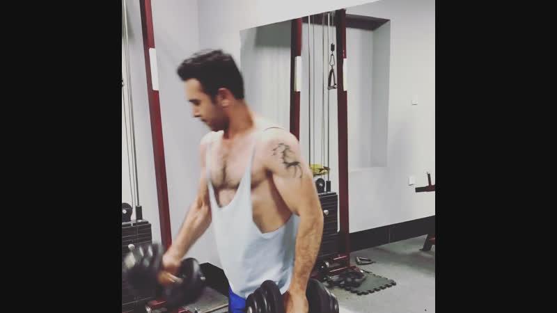 Workout biceps