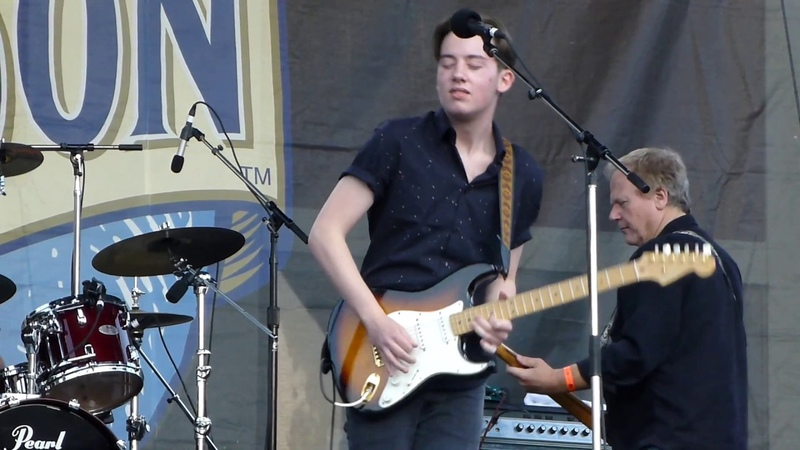 Quinn Sullivan - Steppin' Out - 6/3/17 Western Maryland Blues Festival - Hagerstown