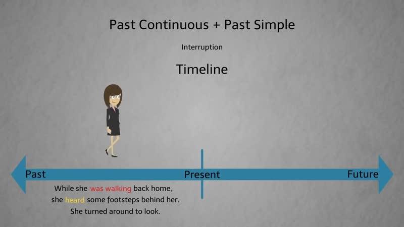 Past Continuous Tense vs Past Simple The Mysterious Stalker Suspense Thriller Short ESL Video