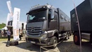 MERCEDES BENZ ACTROS 2552 EXPEDITION CAMPER TRUCK BY BLISS MOBIL NEW MODEL 2017 WALKAROUND
