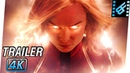 CAPTAIN MARVEL Trailer (2019) 4K Ultra HD | Brie Larson, Samuel L. Jackson, Jude Law