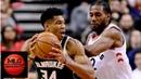 Toronto Raptors vs Milwaukee Bucks Full Game Highlights 12 08 2018 NBA Season