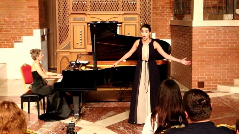 Modest Mussorgsky, Gopak, Ksenia Antonova, soprano, Anastasia Terenkova, piano October Music 2018