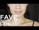 2 Min Makeup Tip - Perfect Nude Lip Combo Winners of Beautycon Haul Giveaway