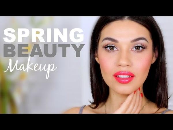 Fresh Spring Makeup Look Easy Everyday Spring Makeup Tutorial Eman
