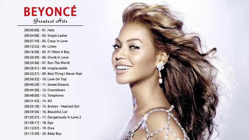 The Best Of Beyonce - Beyonce Greatest Hits Full Album