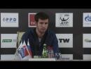 Карен Хачанов: «В Петербурге я выиграл свой первый матч ATP 5 лет назад. Обидно, что сегодня не удалось пройти дальше»
