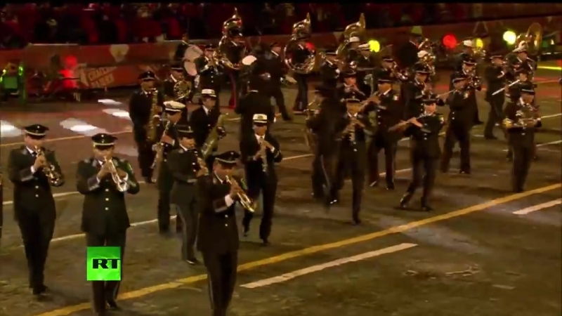 Banda De Guerra Militar De méxico En Moscow 2015 HD.mp4