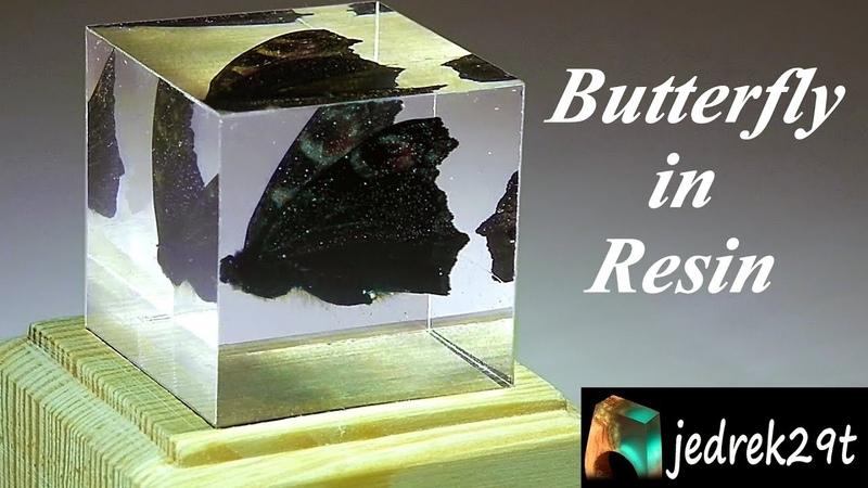 DIY Butterfly in Resin Motyl w Żywicy
