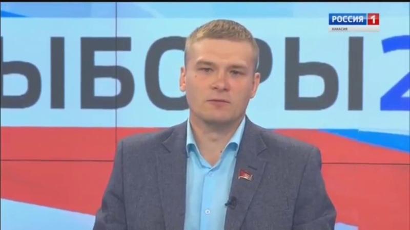 Один день с Кандидатом на главу Хакасии. Валентин КОНОВАЛОВ