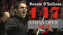 Ronnie OSullivan 147 Break CHINA OPEN 2018 Snooker Lovers