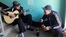 Пацанчик четко лабает АББУ на гитаре