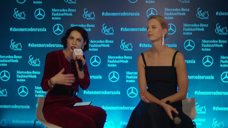 Live-MBFWRussia - Каролина Куркова