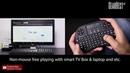 Rii i8 Wireless Touchpad Keyboard - Gearbest