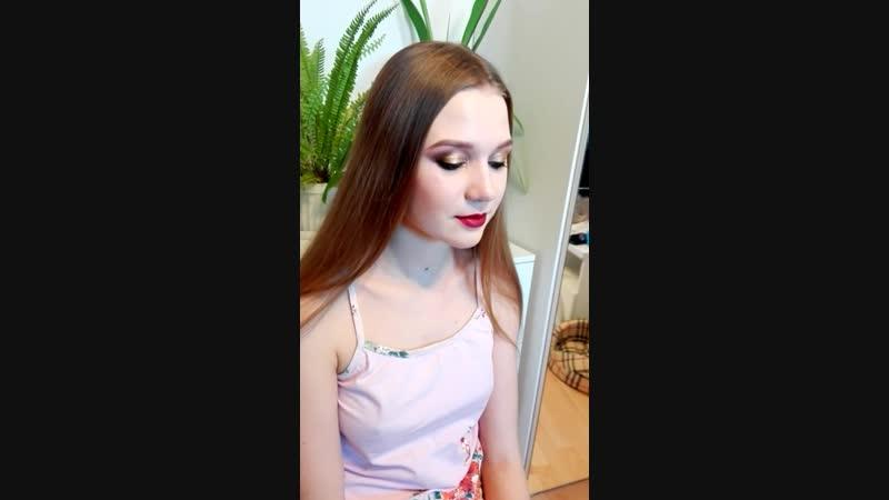 Вечерний макияж. Визажист Анна Константинова.