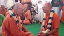 HH Bhakti Vikasa Swami meets HH Bhakti Vijnana Goswami