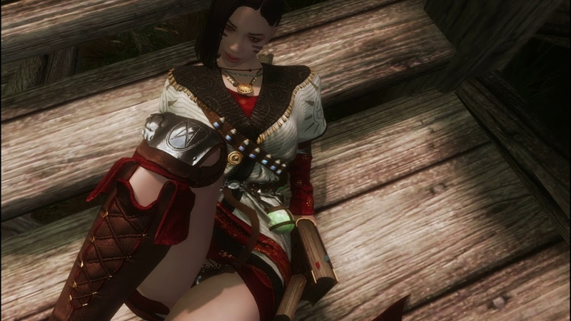 Skyrim-the clothing of the traveling magician ( BDO - TAL )
