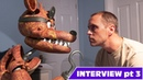 Real fnaf Foxy interview 03 Is he really the purple guy