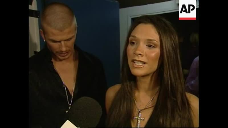 Victoria Beckham - NRJ Awards 2001 - Associated Press 20.01.2001