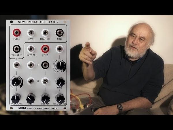 Serge Modular NTO by Random Source - documentary review Serge Tcherepnine interview