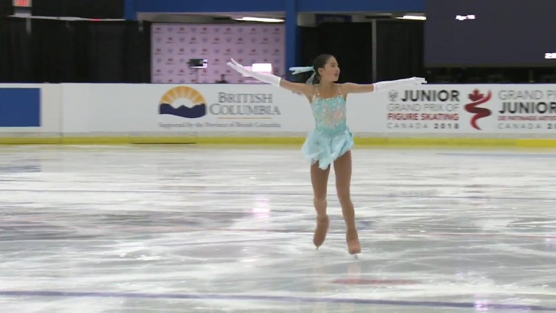 Rion Sumiyoshi (JPN) _ Ladies Short Program _ Richmond 2018