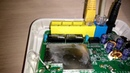 Экспресс ремонт говняного роутера, пайка пластика и ZX6R