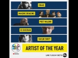 AMAs 2018 l Artist of the Year Nominees