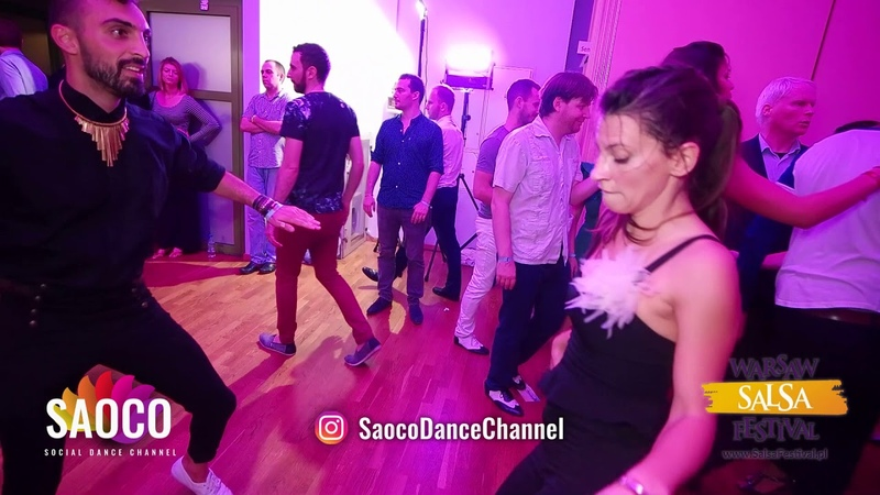 Zang Zaghi and Nera Kraljevic Salsa Dancing at El Sol Warsaw Salsa Festival, Sunday 11.11.2018