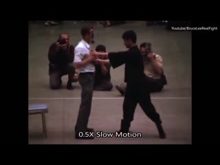 Bruce lee one inch punch incredible power!